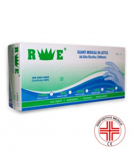 THICKENED HIGH-RISK LATEX GLOVE (300 mm)
