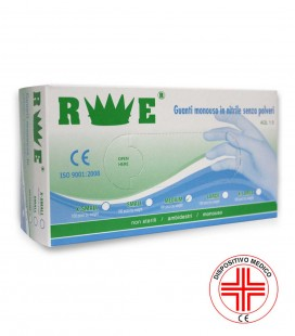 DISPOSABLE NON-STERILE POWDER-FREE NITRILE GLOVES