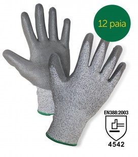 CUT-RESISTANT KEVLAR GLOVES (PROTECTION LEVEL 5)
