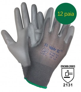 POLYURETHANE-COATED SEAMLESS GLOVES