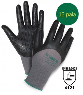 DOTTED NITRILE FOAM-COATED GLOVES